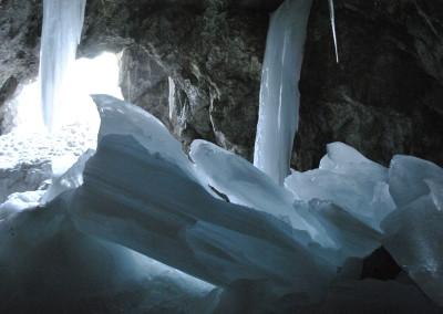 Cueva de hielo de los Lecherines